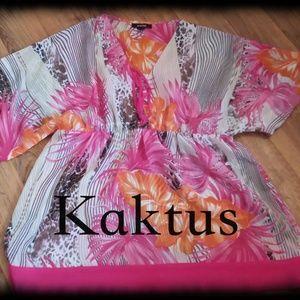 Kaktus Flower Pink Tunic